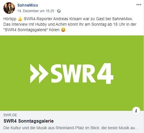 2019-12-13 FB zu SWR4 Interview